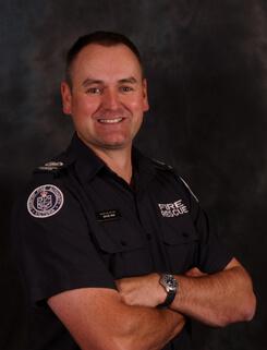 Operations Officer Wayne Rigg
